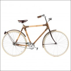 Black Star Bamboo Bike